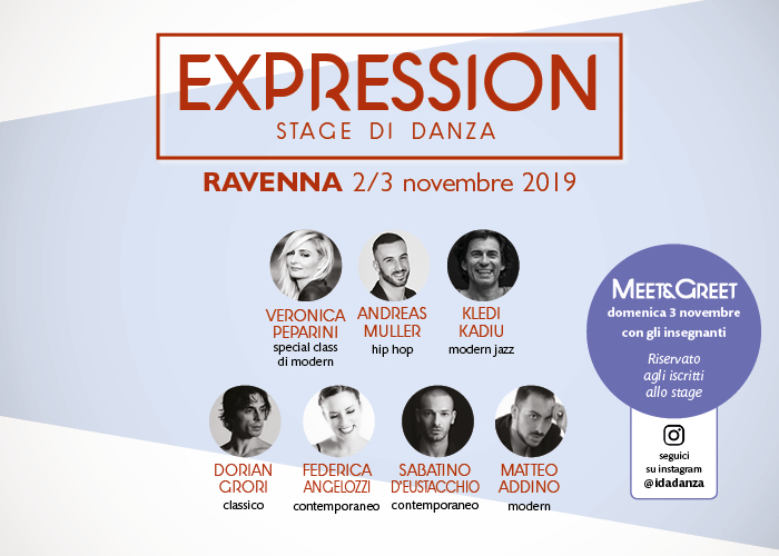 expression stage di danza 2019