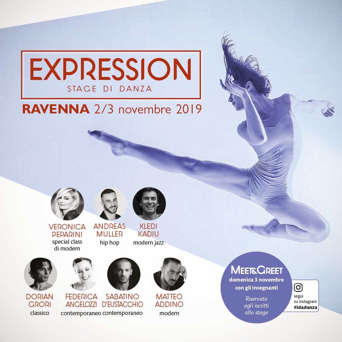 stage expression 2019 ravenna