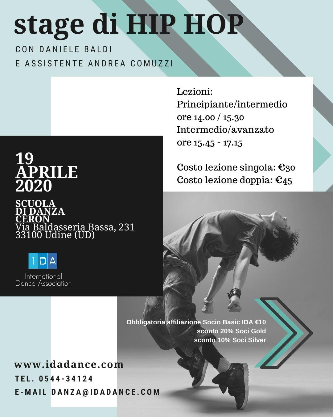 Stage Hip Hop Baldi Udine