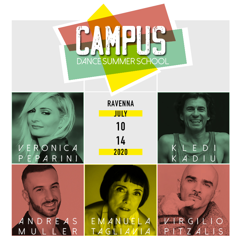 Campus Dance Summer School 2020 grafica