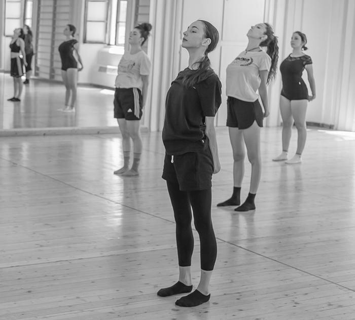 composizione coreografica