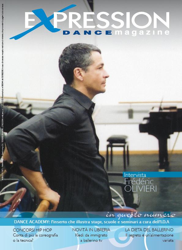 Expression Dance magazine Frederic Oliveri