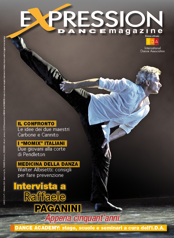 Expression Dance magazine cope Paganini