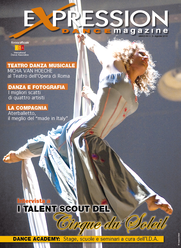 Expression Dance Magazine Cirque du soleil