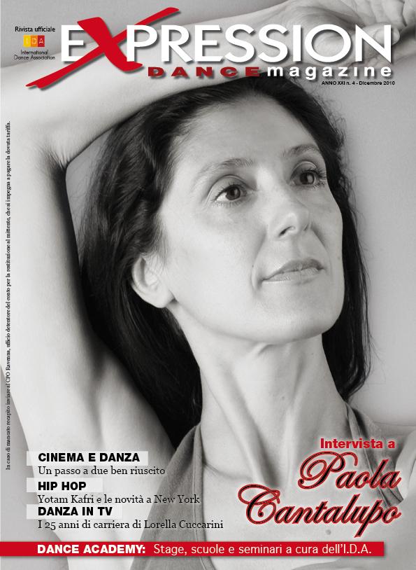 Expression Dance magazine Paola Cantalupo