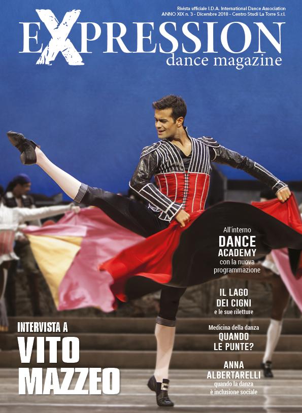 copertina Expression Dance Magazine Mazzeo