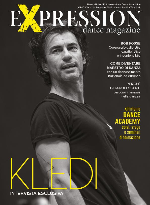 Expression Dance Magazine Settembre 2019 cope Kledi